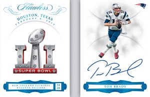 Super Bowl Gems Platinum Tom Brady
