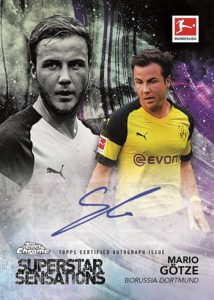 Superstar Sensations Auto Mario Gotze