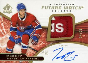 1be10ae5 2018-19 SP Authentic - Hockey Card Checklist - Checklistcenter.com