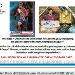 2018-19 Topps Chrome UEFA Champions League
