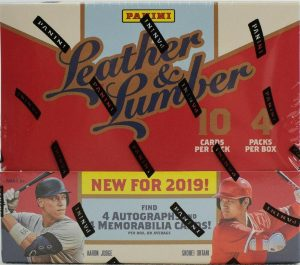 2019 Panini Leather and Lumber