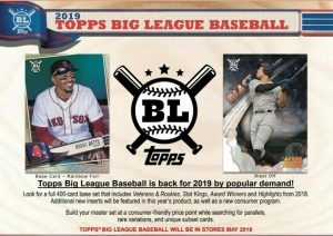2019 Topps Big League Baseball