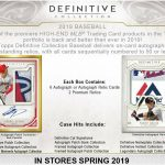 2019 Topps Definitive Collection