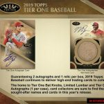 2019 Topps Tier One Baseball