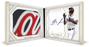 Auto Patch Book Collection Ronald Acuna Jr
