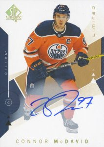 Base Limited Auto Connor McDavid