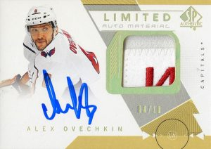 Base Limited Patch Auto Alex Ovechkin