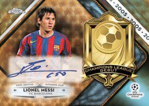 Champions League Debut Auto Lionel Messi