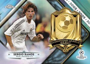 Champions League Debut Sergio Ramos