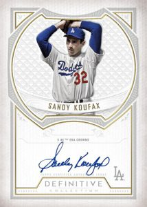 Defining Moments Auto Sandy Koufax