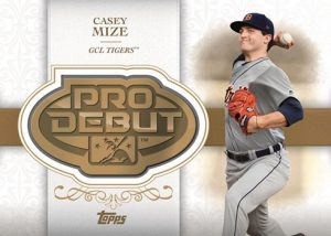 Distinguished Debut Manufactured Medallion Casey Mize