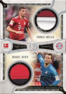 Dual Meaningful Material Patch Relics Thomas Muller, Manuel Neuer