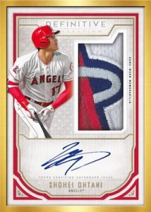 Framed Auto Patch Red Collection Shohei Ohtani