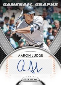 Gameball Graphs Aaron Judge