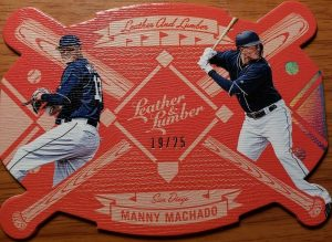 Leather and Lumber Holo Silver Manny Machado