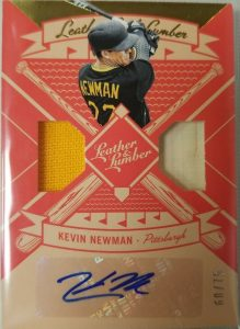 Leather and Lumber Signatures Gold Kevin Newman