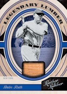 Legendary Lumber Relics Babe Ruth