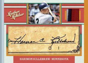 Material Cut Signatures Harmon Killebrew
