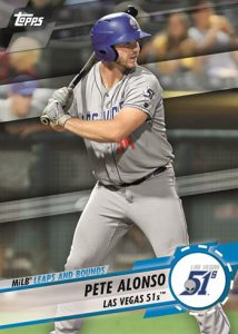 MiLB Leaps and Bounds Pete Alonso