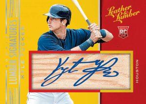 Rookie Lumber Signatures Kyle Tucker