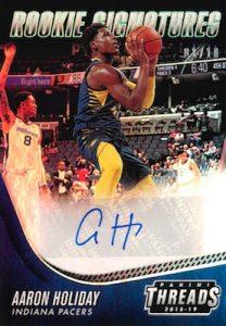 Rookie Signatures Premium Aaron Holiday