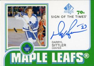 Sign of the Times 70s Darryl Sittler