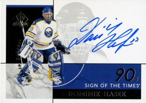 Sign of the Times 90s Dominik Hasek