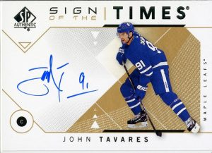 Sign of the Times John Tavares