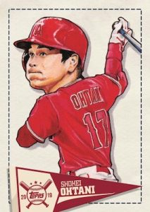 Star Caricature Reproductions Shohei Ohtani