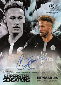 Superstar Sensations Auto Neymar Jr