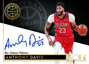 10th Anniversary Auto Anthony Davis