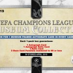 2018-19 Topps Museum Collection UEFA Champions League