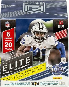 2019 Donruss Elite Football