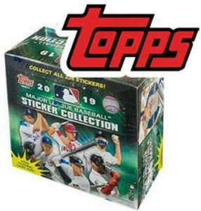 2019 Topps MLB Stickers