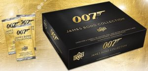 2019 UD 007 James Bond Collection