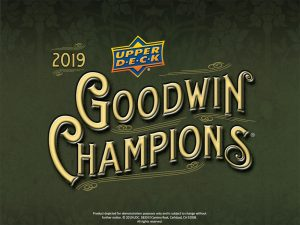 2019 UD Goodwin Champions