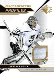 Authentic Profiles Jersey Jonathan Quick