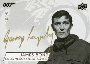 Auto SSP George Lazenby as James Bond