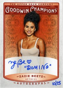 Autographs Inscribed Zazie Beetz