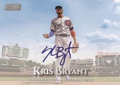 Base Auto Kris Bryant