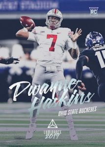 Base Rookie Dwayne Haskins