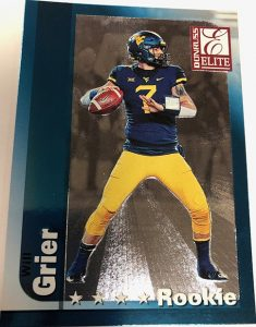 Base Rookie Will Grier