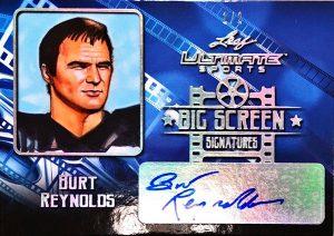 Big Screen Signatures Burt Reynolds