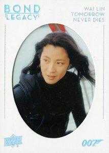 Bond Legacy Wai Lin Tomorrow Never Dies