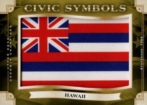 Civic Symbols Manufactured Patch Hawaii
