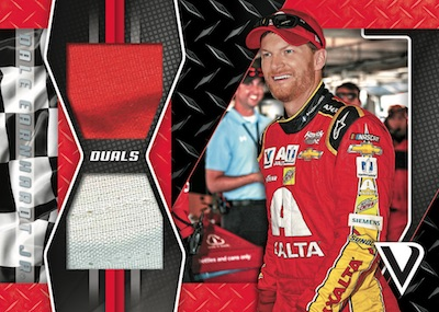 Dual Swatches Red Dale Earnhardt Jr