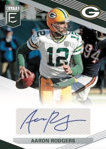 Elite Signatures Aaron Rodgers