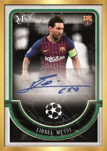 Framed Auto Lionel Messi