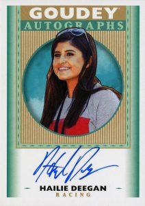 Goudey Autographs Hailie Deegan