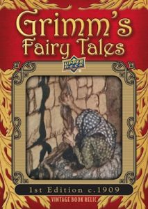 Grimm's Fairy Tales Illustration Relics Book Cut